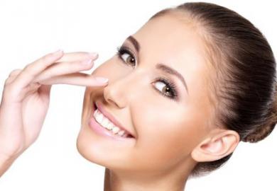 Die Schönheitsoperation an der Nase